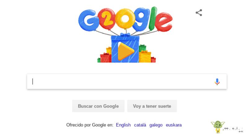 20-años-de-Google 20 años de Google, ¿cómo hemos cambiado?