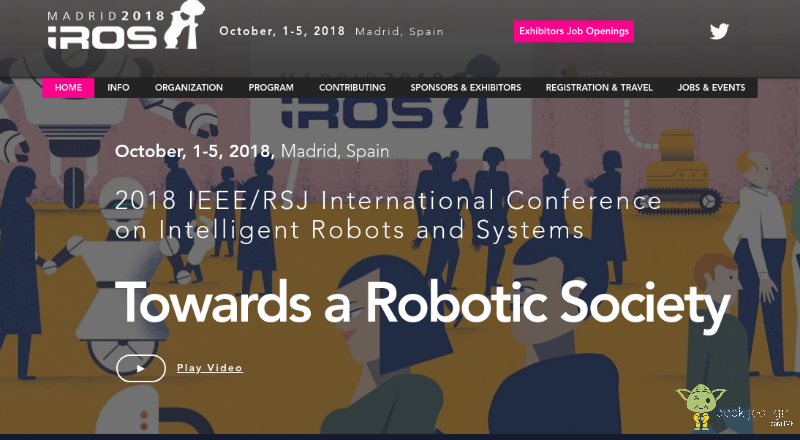 robotica Madrid, capital mundial de la robótica