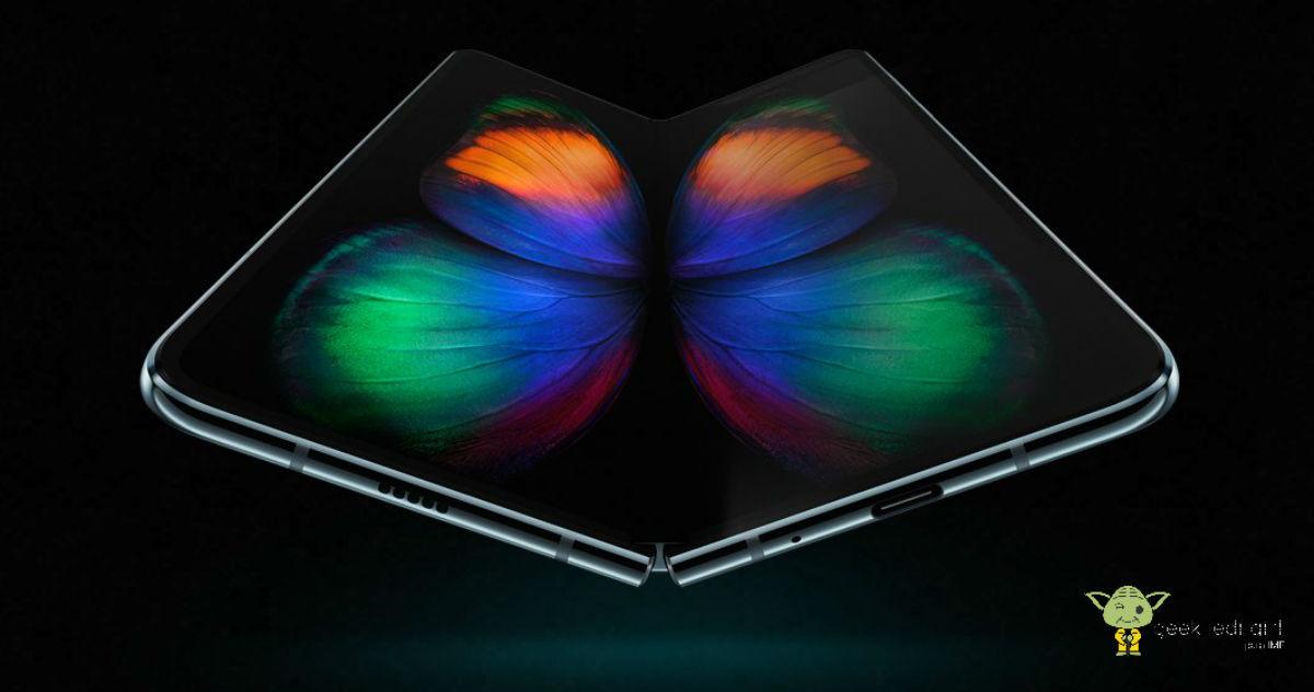 Samsung Samsung presenta el primer móvil plegable de la historia